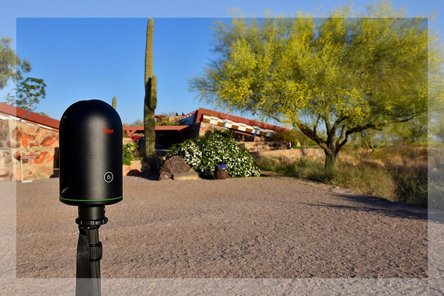BLK360 at Taliesin border