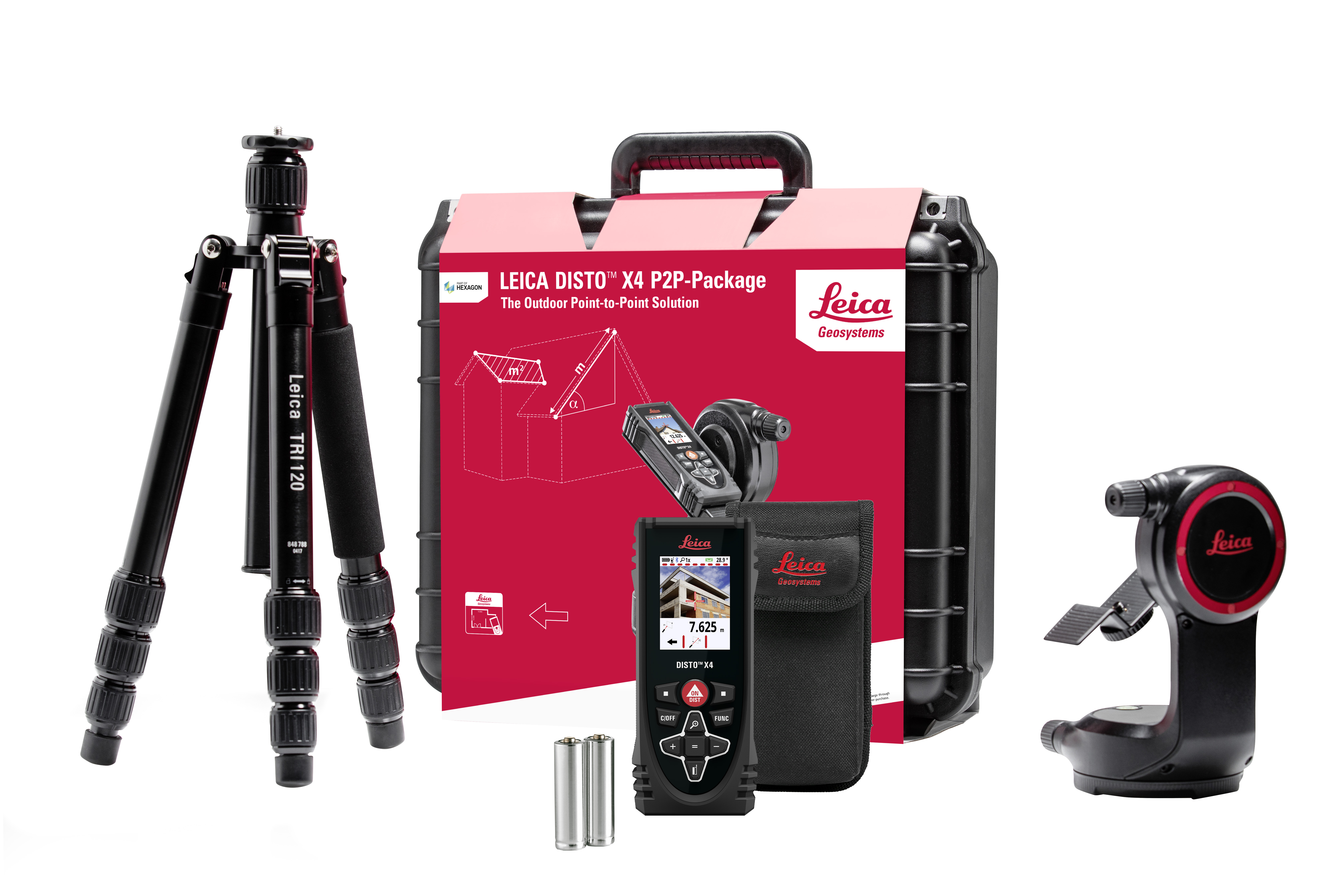 ​​​​​​​LEICA DISTO™ X4 P2P-PACKAGE