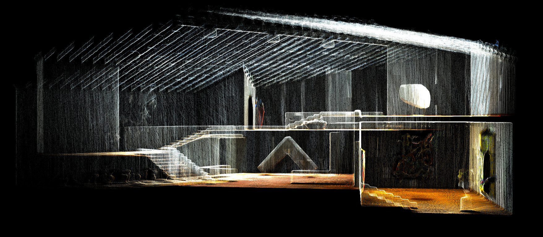 glass house point cloud