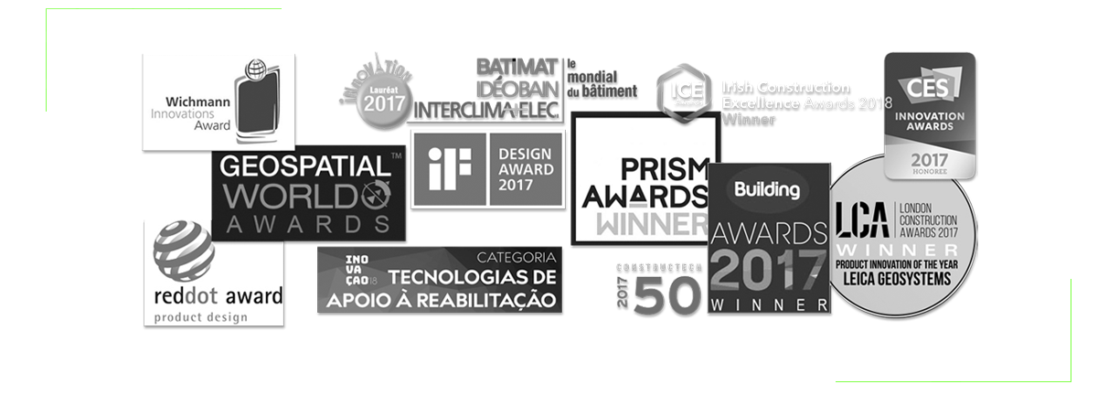 BLK360 awards logos