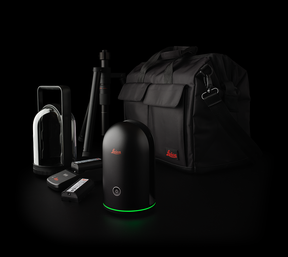 Leica BLK360 with accessories