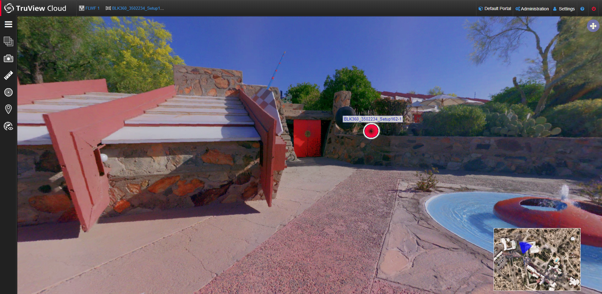 Taliesin West in Leica TruView