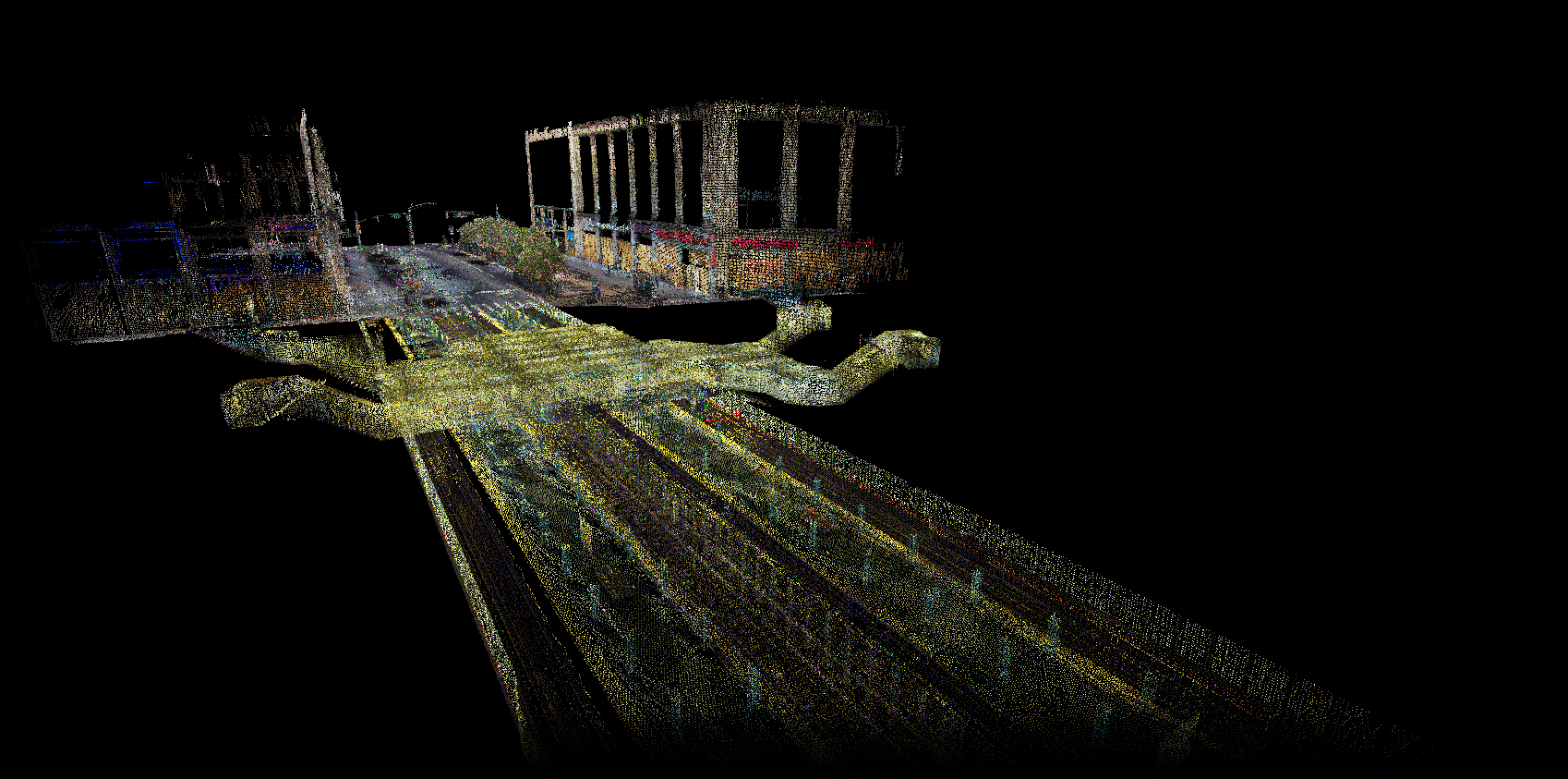 Leica BLK2GO Point Cloud of NYC