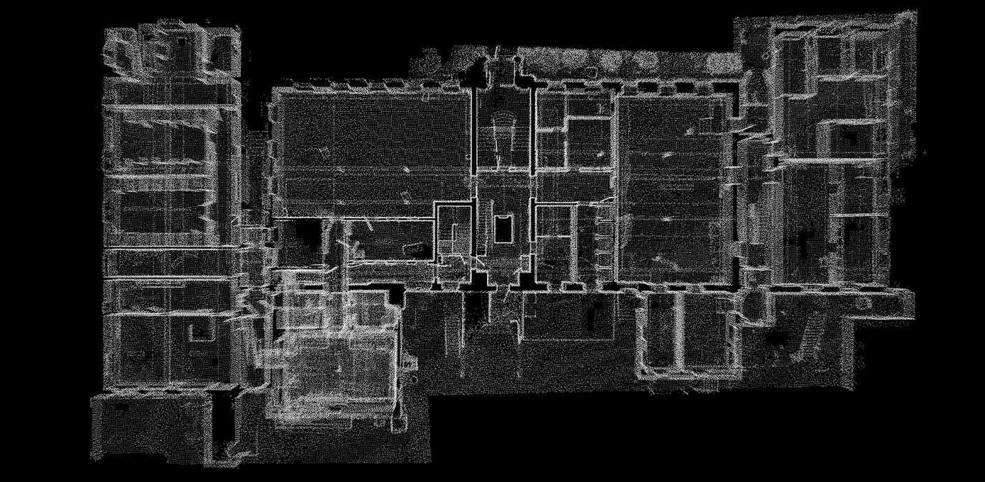 Leica BLK2GO Point Cloud of a building in New York City