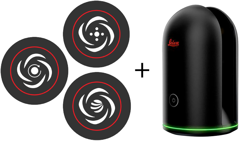 BLK360, Cyclone REGISTER 360, CloudWorx, y JetStream