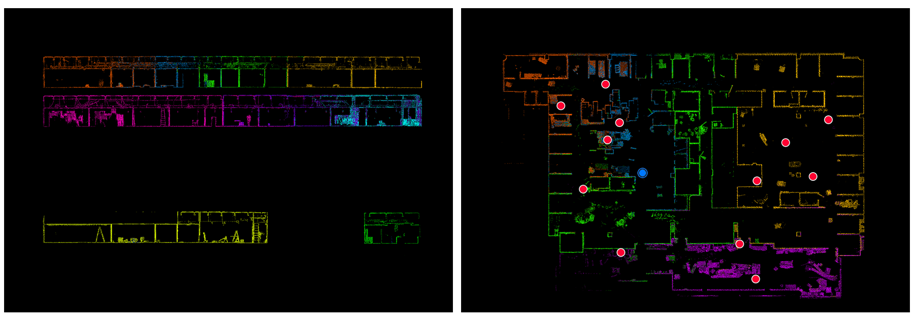 colorful floorplan slice TruView