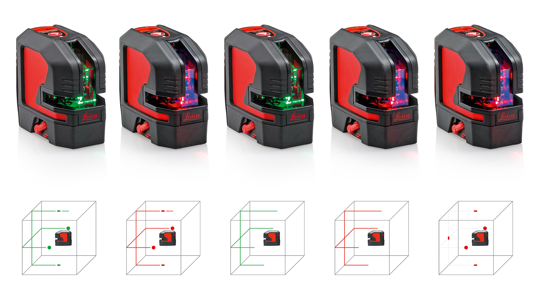 Leica Lino Compact Line and Point Lasers