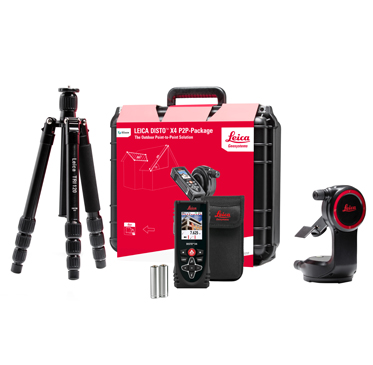 Leica DISTO X4 P2P-Package