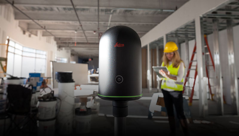 BLK360 in construction site