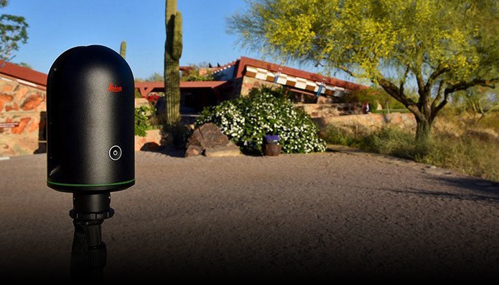 BLK360 at Taliesin West