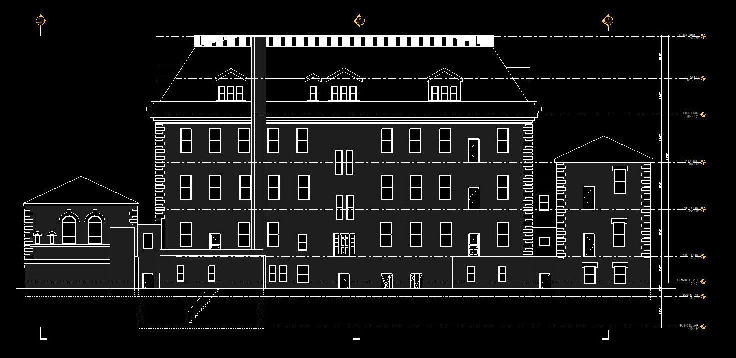 Building in Revit based on Leica BLK2GO Scan Data