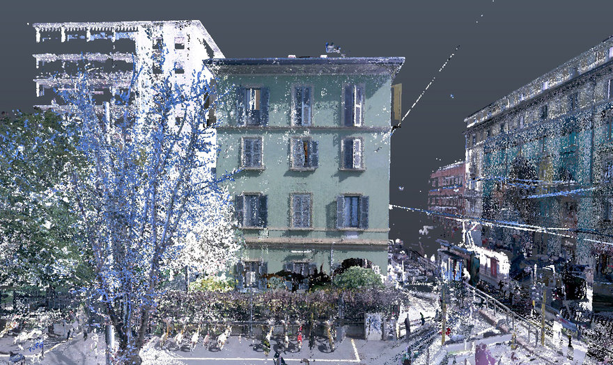 DRM Architetti point cloud