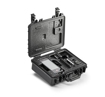 Rugged case open side view