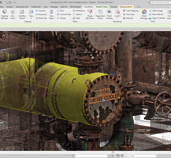 Pipe and steel extractors make modeling from scanned objects simple.