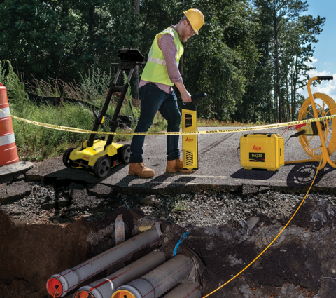 Leica Utility Detection