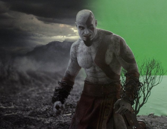 God of War film still