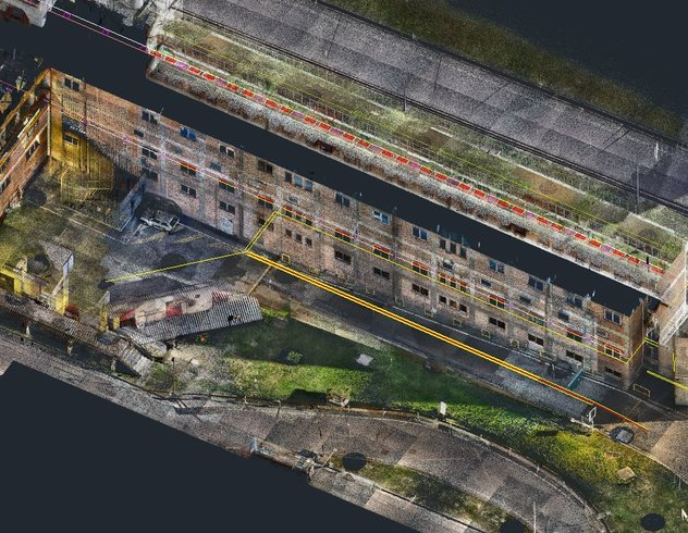 3D point cloud data from BLK2GO